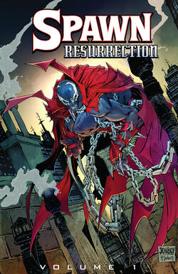 Cover for the Spawn TPB Resurrection Vol 1 Trade Paperback