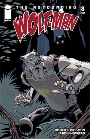 Cover for Astounding Wolf-Man #8 (2008)
