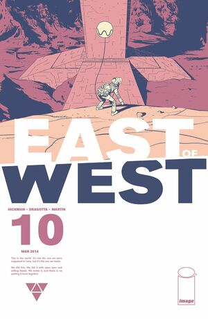 Cover for East of West #10 (2014)