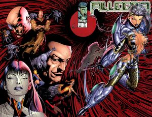 Cover for Allegra #1 (1996)