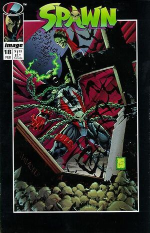 Cover for Spawn #18 (1994)