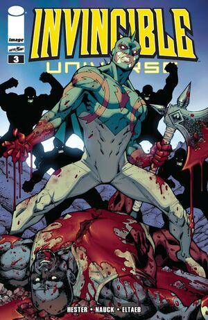 Cover for Invincible Universe #3 (2013)