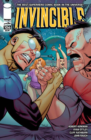 Cover for Invincible #106 (2013)