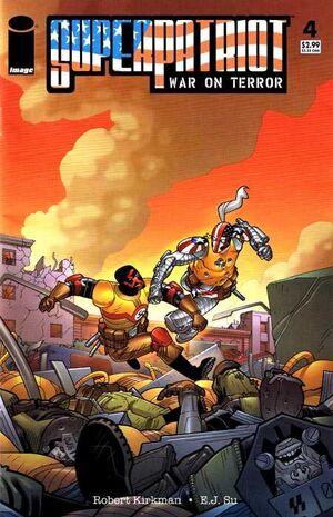 Cover for SuperPatriot: War on Terror #4 (2007)