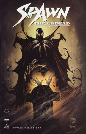 Cover for Spawn: The Undead #3 (1999)