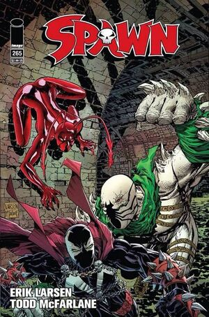 Cover for Spawn #265 (2016)