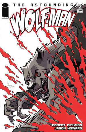 Cover for Astounding Wolf-Man #2 (2007)