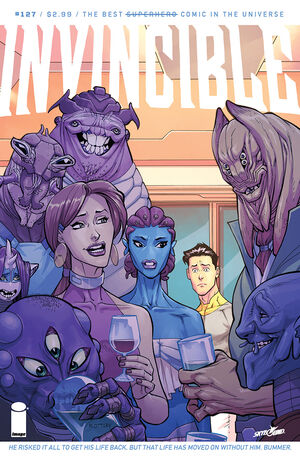 Cover for Invincible #127 (2016)