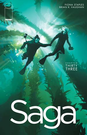 Cover for Saga #33 (2016)