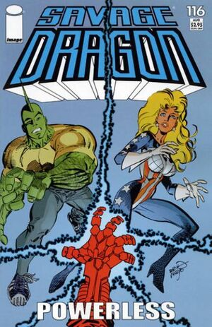 Cover for Savage Dragon #116 (2004)