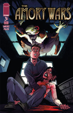 Cover for The Amory Wars #3 (2007)