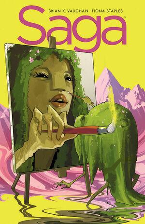 Cover for Saga #23 (2014)
