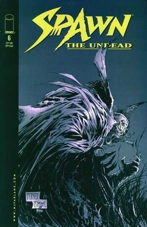Cover for Spawn: The Undead #6 (1999)