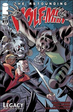 Cover for Astounding Wolf-Man #25 (2010)