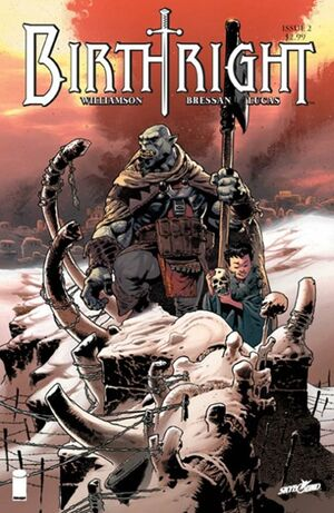 Cover for Birthright #2 (2014)