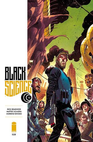 Cover for Black Science #12 (2015)