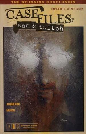 Cover for Case Files: Sam and Twitch #6 (2003)