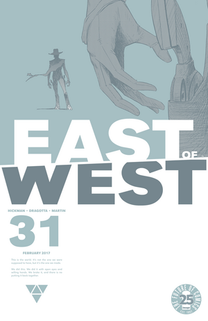 Cover for East of West #31 (2016)