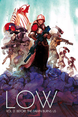 Cover for the Low TPB 2 Before the Dawn Burns Us Trade Paperback