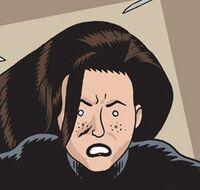 Nicole Dark Corridor 001