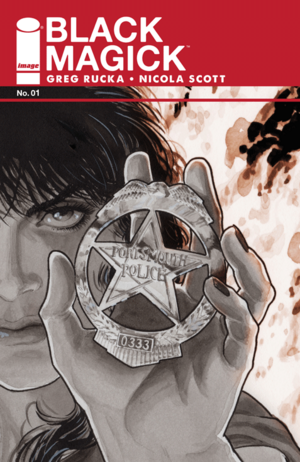 Cover for Black Magick #1 (2015)