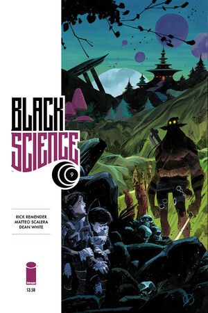 Cover for Black Science #9 (2014)