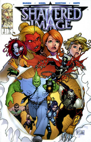 Cover for Shattered Image #3 (1996)