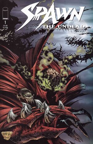 Cover for Spawn: The Undead #1 (1999)