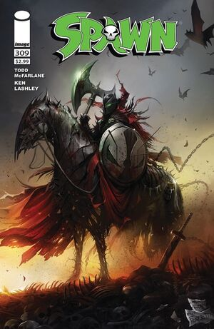 Cover for Spawn #309 (2020)