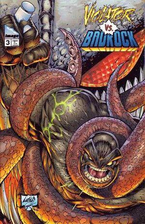 Cover for Violator vs. Badrock #3 (1995)