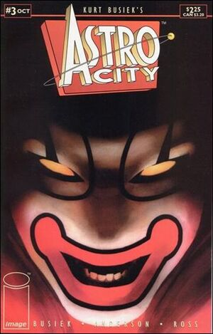 Cover for Astro City #3 (1995)