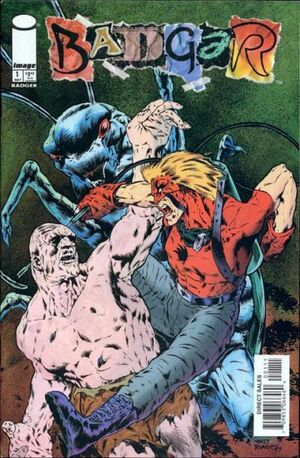 Cover for Badger #1 (1997)
