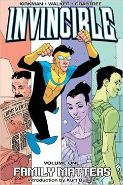 Cover for the Invincible TPB Vol 1 Trade Paperback