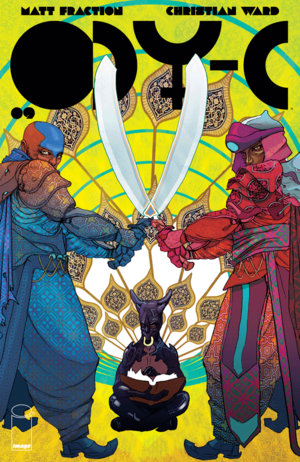 Cover for ODY-C #9 (2016)