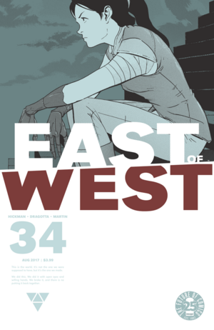Cover for East of West #34 (2016)
