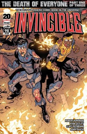 Cover for Invincible #98 (2012)