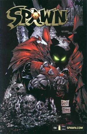 Cover for Spawn #114 (2001)