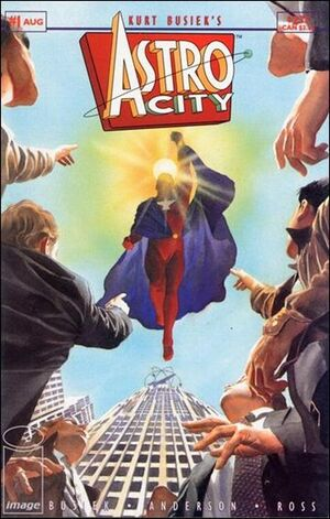 Cover for Astro City #1 (1995)