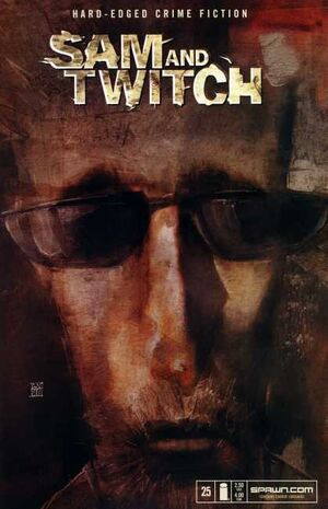 Cover for Sam and Twitch #25 (2003)