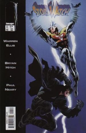 Cover for StormWatch #4 (1998)