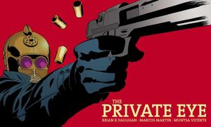 Cover for The Private Eye #2 (2015)