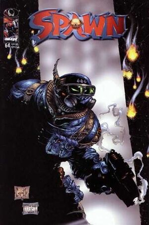 Cover for Spawn #64 (1997)