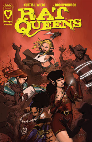 Cover for Rat Queens #3 (2013)