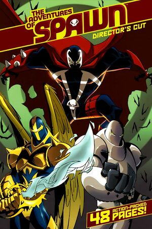 Cover for Adventures of Spawn #1 (2007)