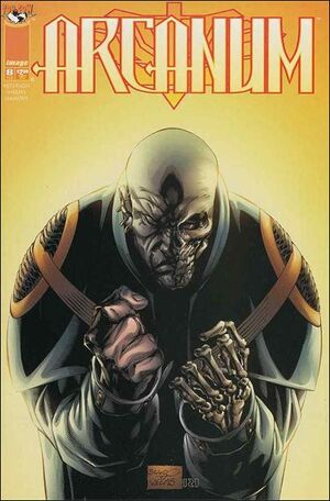 Cover for Arcanum #8 (1998)