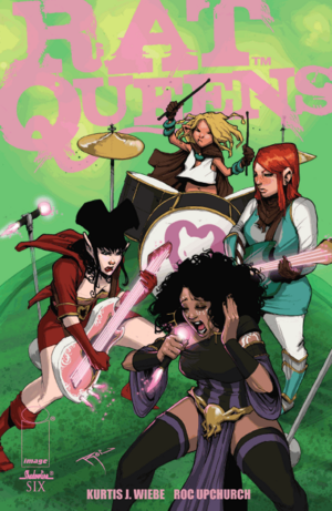 Cover for Rat Queens #6 (2014)