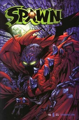 Cover for Spawn #116 (2002)