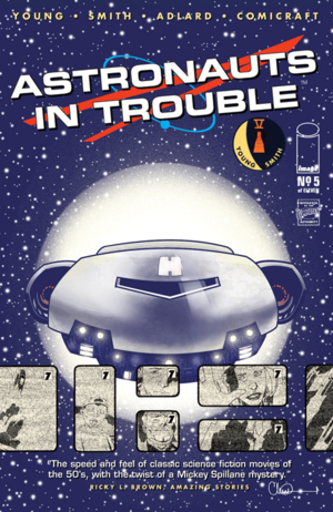Cover for Astronauts in Trouble #5 (2015)