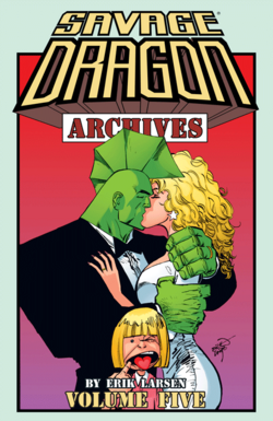 Cover for the Savage Dragon TPB Archives Vol 5 Trade Paperback