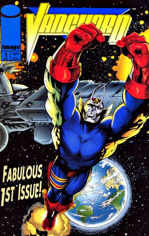 Cover for Vanguard #1 (1993)